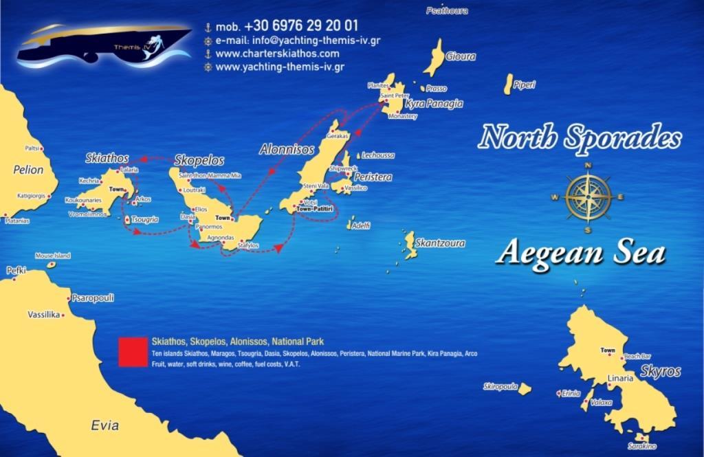 ONLY BOOK Skiathos, Skopelos, Alonissos, National Park ...